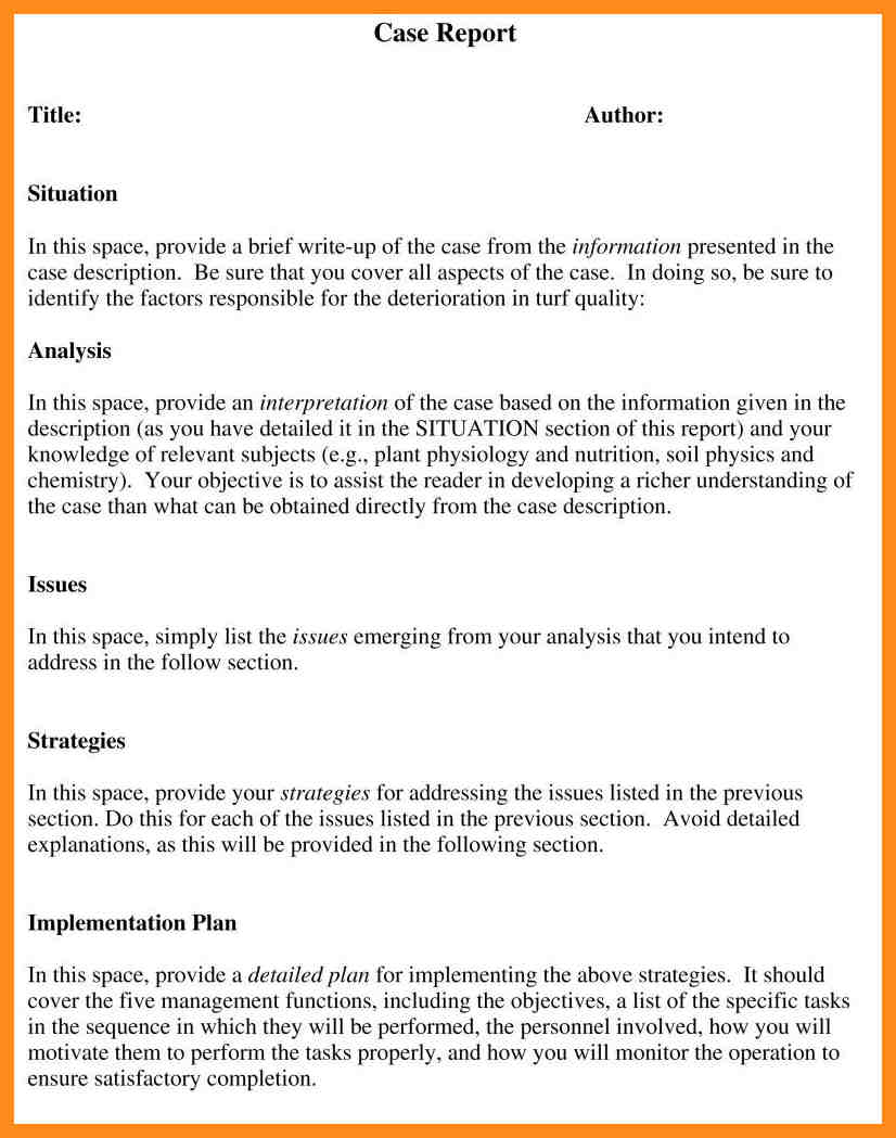 Example Of Report Writing Doc And Example Of Report Writing Grade 3